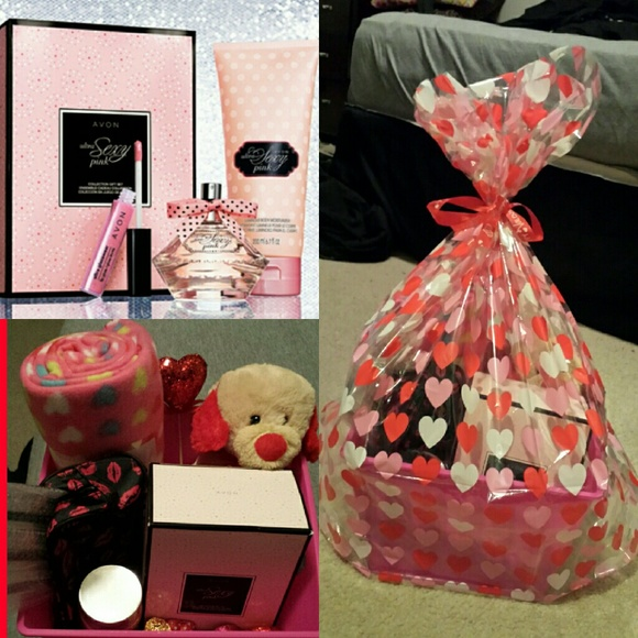 Avon valentine basket from alicias closet on poshmark valentine basket negle Images
