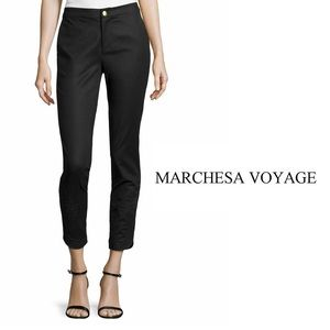 Marchesa Pants - Marchesa Voyage Cavalry embroidered pants. 4.