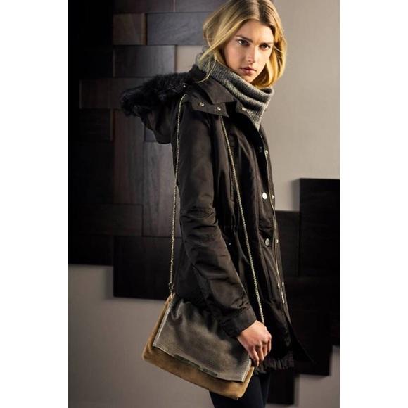 02cc79c7b Massimo Dutti Jackets & Coats | Black Parka | Poshmark