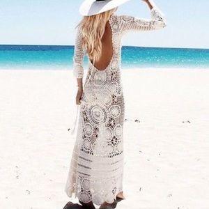 How To Spell Crochet : Spell & The Gypsy Collective Dresses - Spell Margarita crochet maxi ...