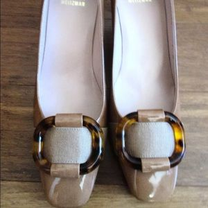Stuart Weitzman Shoes - NEW Stuart Wietzman Tan Tortoise Pumps Size 7