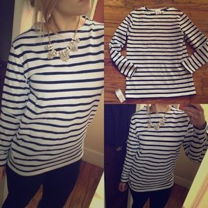 Nwt youlah Japanese fashion striped top m partysu