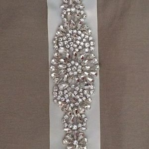 Wedding sash /wedding belt