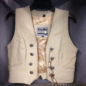 Pioneer Wear Jackets & Blazers - Poineer Wear leather vest