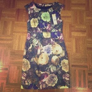 FLASH SALE NEW NWT Floral Print Cocktail Dress