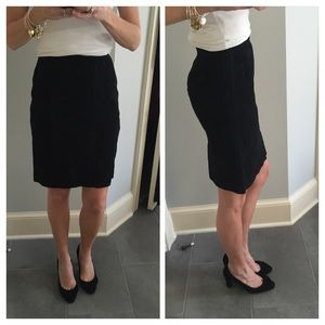 Dresses & Skirts - Genuine leather suede high waist skirt size 00