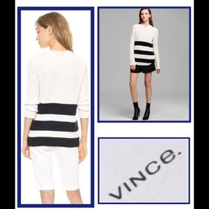 NWT! VINCE Wool Cashmere Knit Sweater
