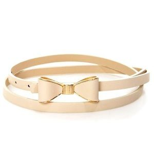 Gold Bow Waist Belt