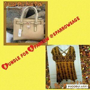 bundle purse 25$ top $1