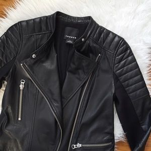 Trouve Jackets & Blazers - ✨2x HP✨ Trouvé leather jacket