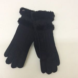 Ugg black gloves s