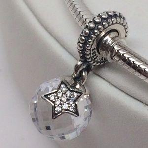 Pandora Jewelry - New Pandora Clear Moon and Stars