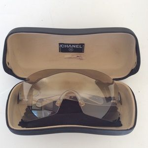 Authentic Chanel 4111 C/159 6Y 120 Sunglasses