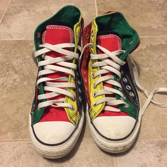 colorful converse shoes