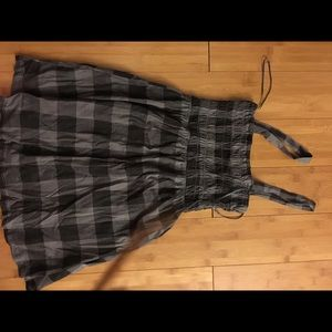 Zara Trafaluc plaid dress