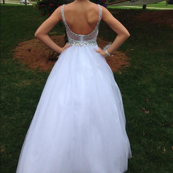 Sherri Hill Dresses & Skirts - Tiffany dresses white ballgown prom dress