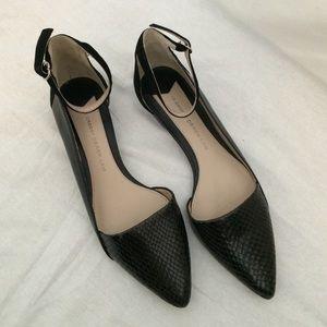 10 Crosby Derek Lam Shoes - 10 Crosby Derek Lam ankle strap pointed toe flat