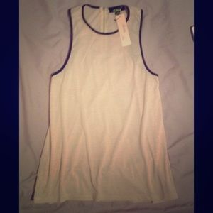 "Tops - NWT ""Bobbles and Lace"" boutique tank medium"