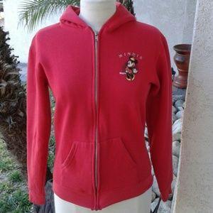 Disneyland  Sweaters - Vintage Minnie red hoodie. No size tag. Fits S-M.