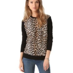 Equipment Leopard Sweater XS