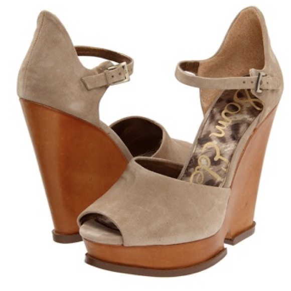 8411fde6add8 NWOT Sam Edelman Javi Cutout Wedge Sandals (10.5m).  M 56b2c22e4e95a354ed00712a