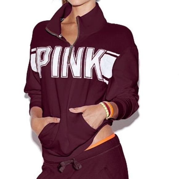 36% off PINK Victoria's Secret Sweaters - Medium PINK Boyfriend ...