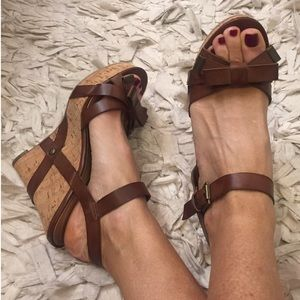 Gorgeous Leather Guess Wedges