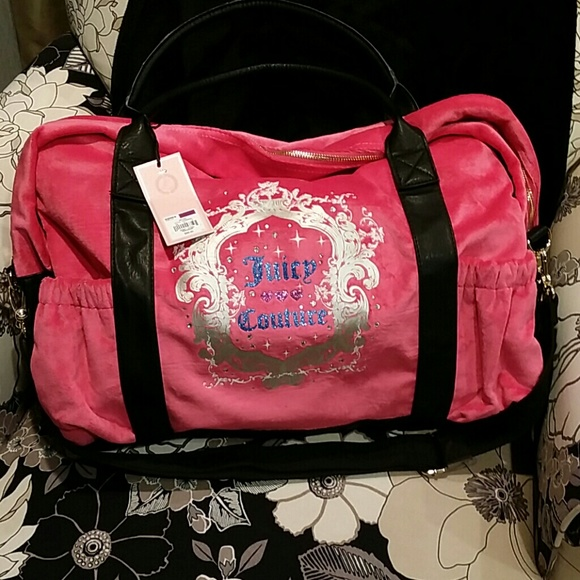 Juicy Couture Duffle Bag New Tag ad2fba33b623