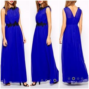 MOVING SALE❗️Cobalt Blue Maxi Dress Gown