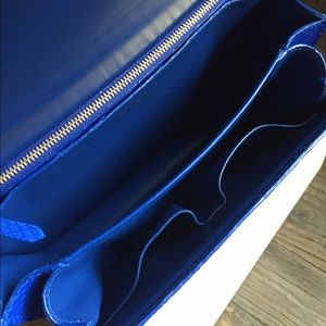 Celine Bags   Python Medium Box Bag In Indigo Nib   Poshmark ce1734f35e