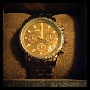 NWT Michael Kors Chronograph Watch