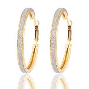 BCB Jewelry - 🆕 Sparkle Shimmer Hoop Earrings