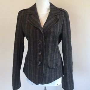 MaxMara Jackets & Blazers - Weekend Max Mara wool blend plaid blazer size 8