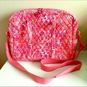 Vera Bradley Hope Toile Metro Laptop Bag