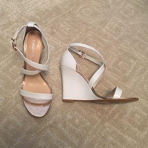 Shoes - Carlo Pazolini white/rose gold wedge heels
