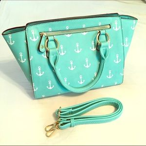 Francesca's Nautical Anchors Bag ⚓️