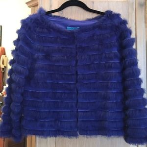 Alice and Olivia 100% fur never worn short jacket