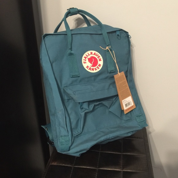 Fjallraven Bags Kanken Ocean Green Daypack Backpack