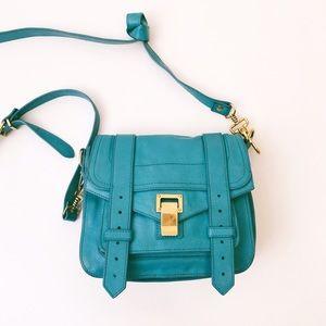 Proenza Schouler Handbags - Proenza Schouler PS1 Crossbody Blue Pouch