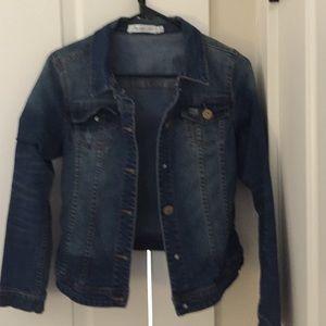 Cute jean jacket.