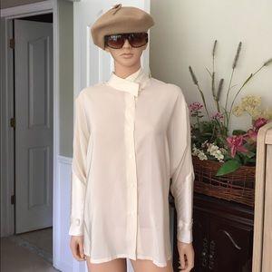 Relin of San Fransisco Tops - 💐Relin of San Francisco 100% silk blouse