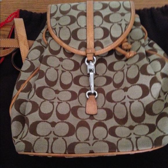 7a046e67963f5 Coach Handbags - Coach backpack