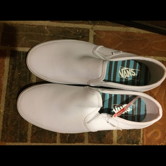 Vans Shoes | Vans Womens Asher White