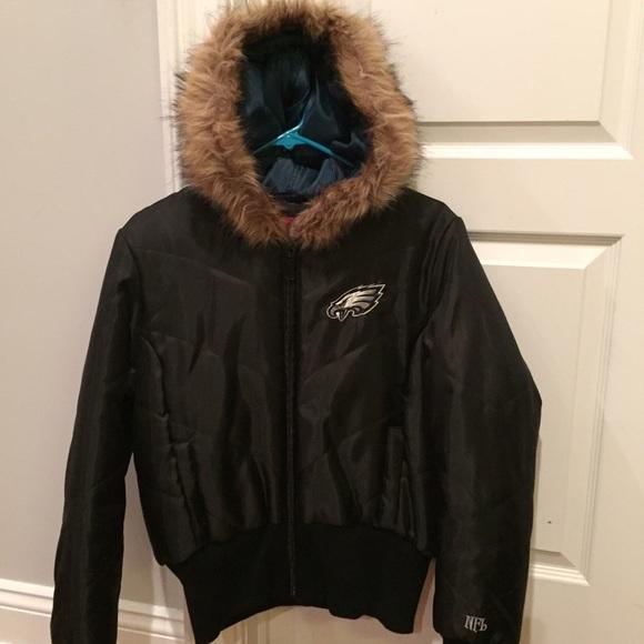 size 40 45423 0b7f6 Philadelphia Eagles Women's winter jacket