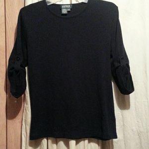 Lauren Ralph  Lauren  black  sweater