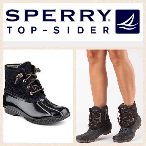 c24ad5423fa2 Sperry Top Sider quilted duck boots. M 56b40deb4225be3c89002e09