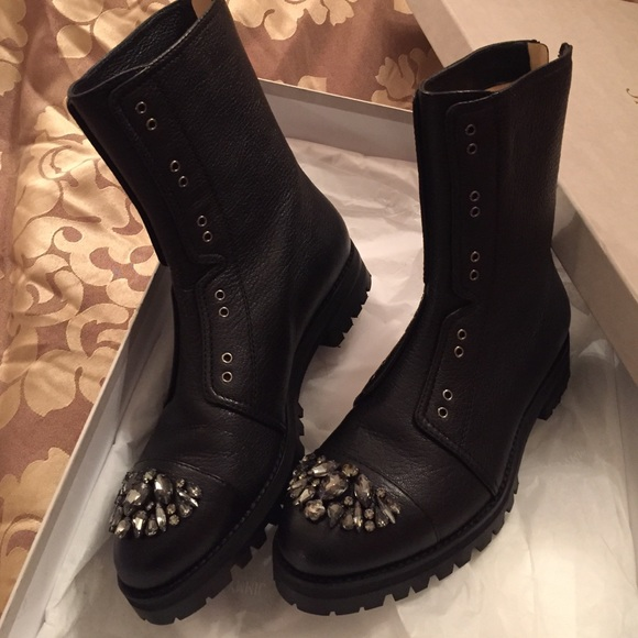 sale online store top quality sale online Jimmy Choo Hatcher Jewel-Embellished Ankle Boots discount clearance free shipping tumblr IO2vHbK