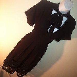 Marni Silk Black Dress IT 42 8 / 6 US