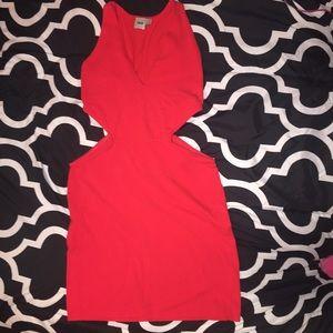 ASOS Dresses - Red ASOS sleeveless bodycon dress.