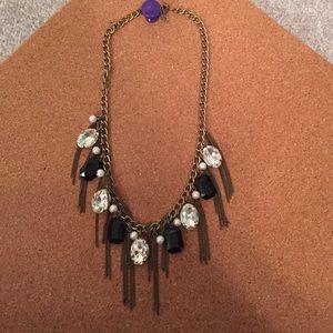 Bronze statement necklace